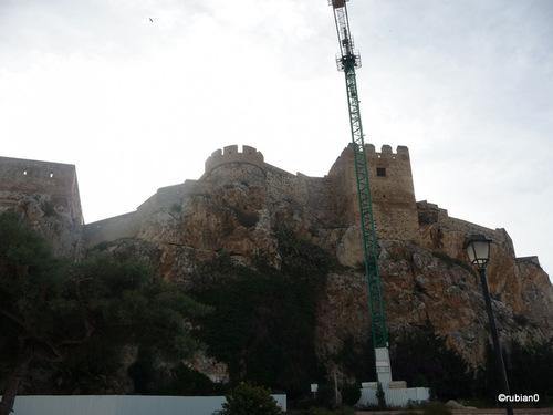 L'Alcazabar est en travaux