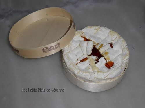 Camembert au sirop d'érable