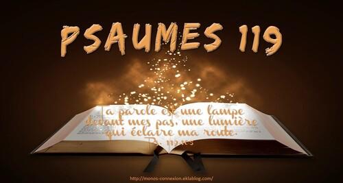 Calendrier Biblique - Psaumes 119