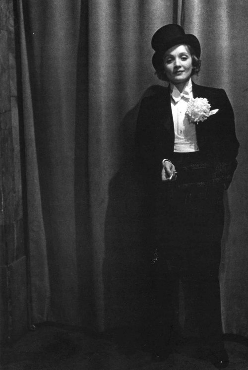 Femme Fatales Marlene Dietrich Top-Hat and Tails