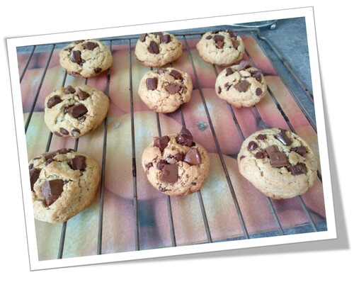 Mes cookies parfaits !