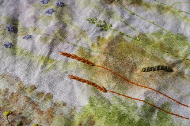 Prairie brodée