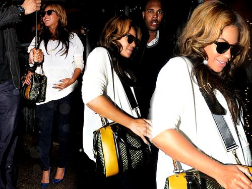Beyonce photographiéa au Sakura Nail Salon