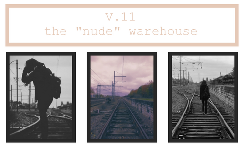 "V.11 : ""nude"" warehouse"