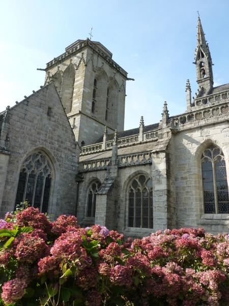 Locronan (L'église Saint- Ronan)