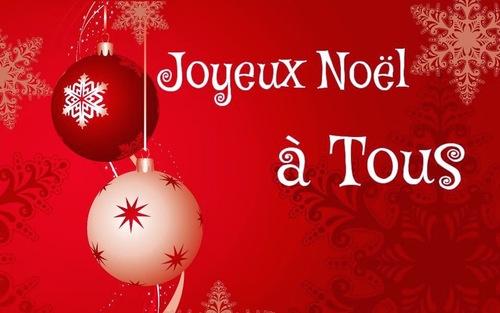 JOYEUX Noël à tous et toutes.