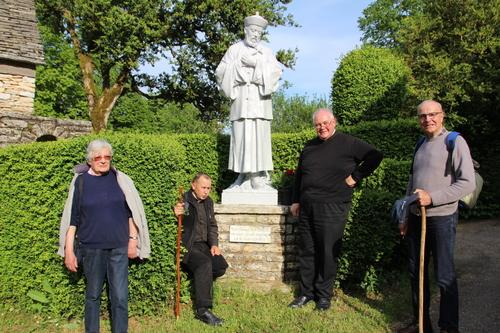 A Montgesty... Le Puech ( maison natale de St Jean-Gabriel Perboyre)