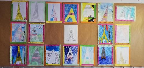 Arts: les Tour Eiffel!