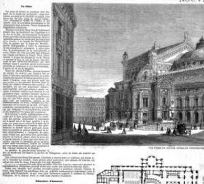 Le futur Opéra Garnier