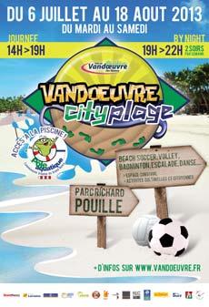 Animation Vandoeuvre City Plage - Vandœuvre-lès-Nancy