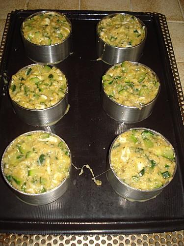 Méli-mélo de courgettes et mozzarella 5