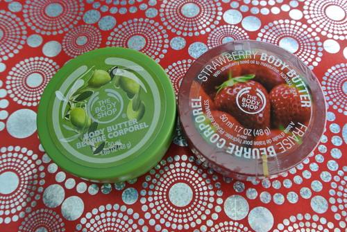 Beurres Corporels The Body Shop - Mon addiction cosmétique => Concours!