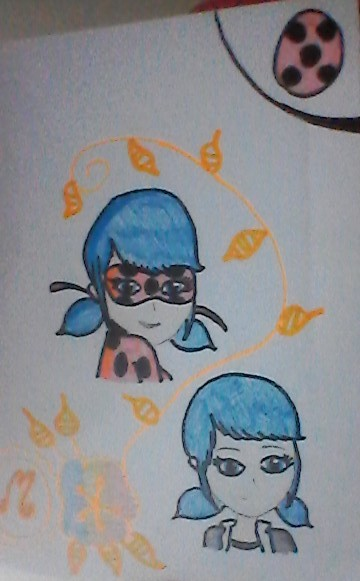 Dessin Ladybug/Marinette