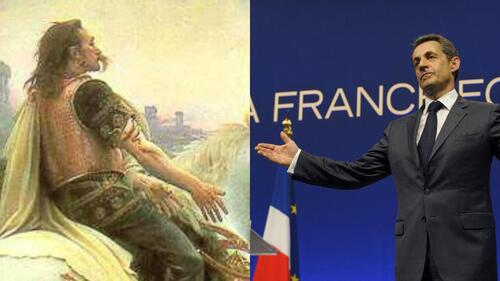 Quand Nicolas Sarkosy instrumentalise l' Histoire ....