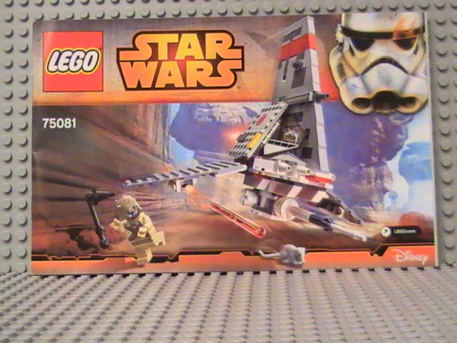 LEGO STAR WARS n°75081 de 2015 - Le T16 Skyopper.