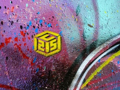 C215 armoires electriques street-art quai 13è logo