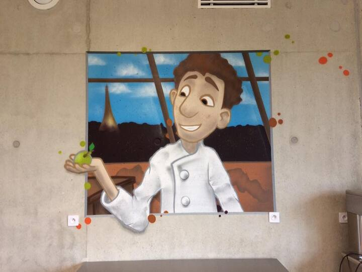 Mur cantine maternelle 08.