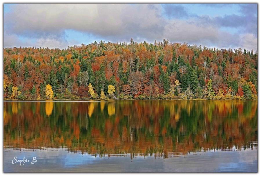Le lac de la Crégut.