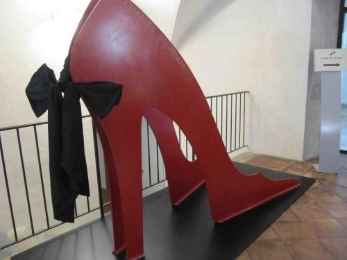Visite au Musée International de la Chaussure de Romans