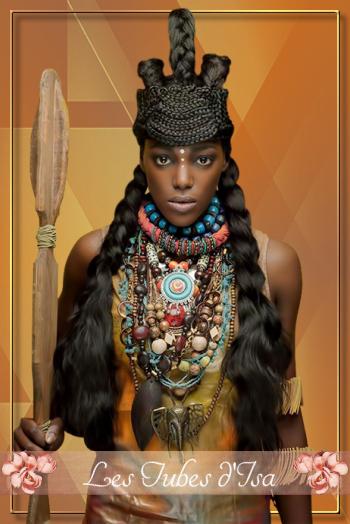 AF0031 - Tube femme africaine