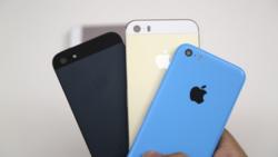iPhone 5S et 5C