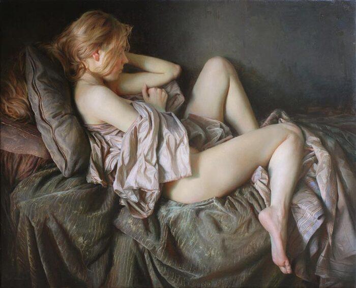 Ces peintures sensuelles de l'artiste russe Serge Marshennikov