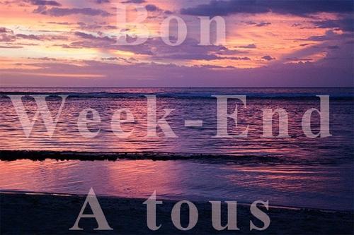 [tuto] Bon Week-End à tous