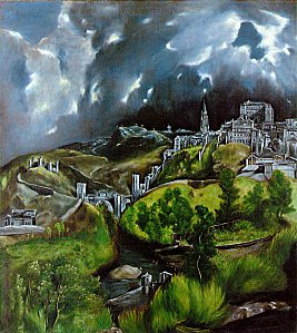 Orage - El Greco View of Toledo wikipedia