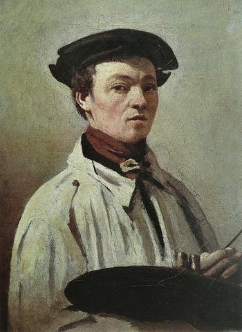 Jean-Baptiste Camille Corot (autoportrait)