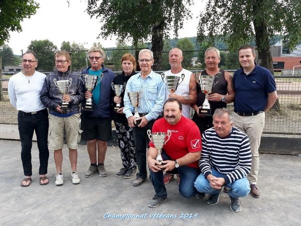Fédération des Ardennes - Championnat individuel vétérans 2019