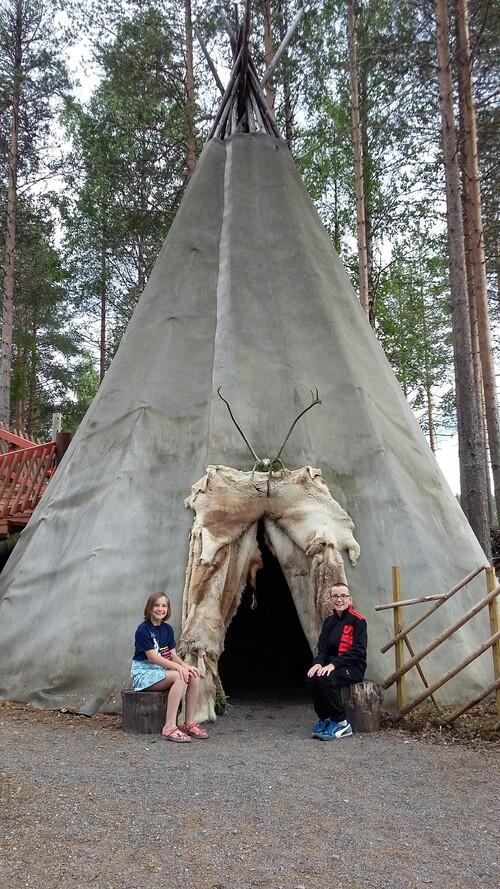 De Stockholm à Rovaniemi