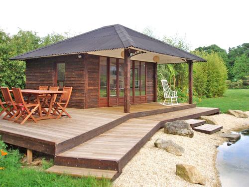 Gites insolites Morbihan, pavillon en bois