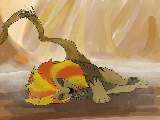 Une autre version du Roi lion