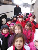 Premier jour à Lamoura