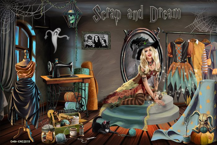 scrap and dream