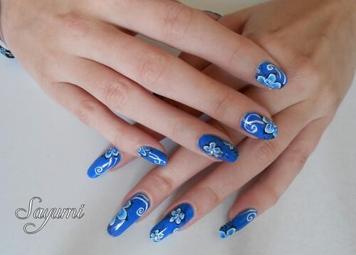 Nail Art One Stroke Piscine