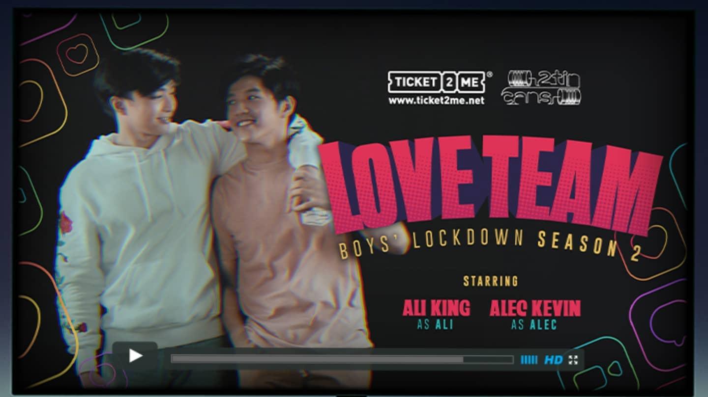 Boys' Lockdown 2 : Love Team