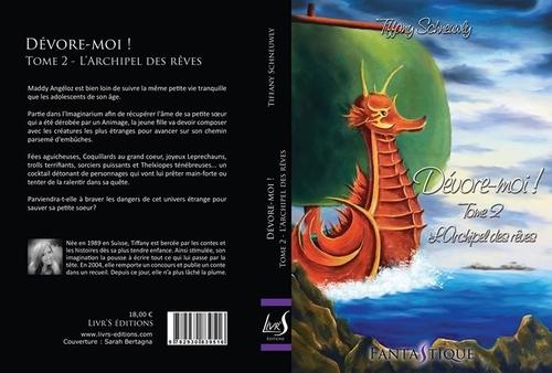 découvrez la couverture du tome 2 de Dévore-moi @Livrs_Éditions