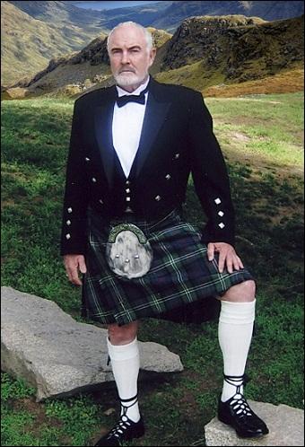 Le kilt  écossais