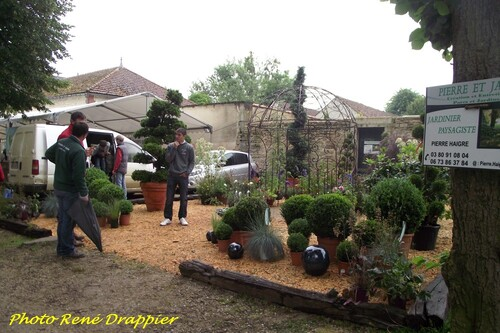 René Drappier s'est rendu aux Journées Châtillonnaises...