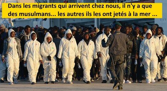 Migrants, harcèlement, etc..ce sont les nouvelles infos du mardi.