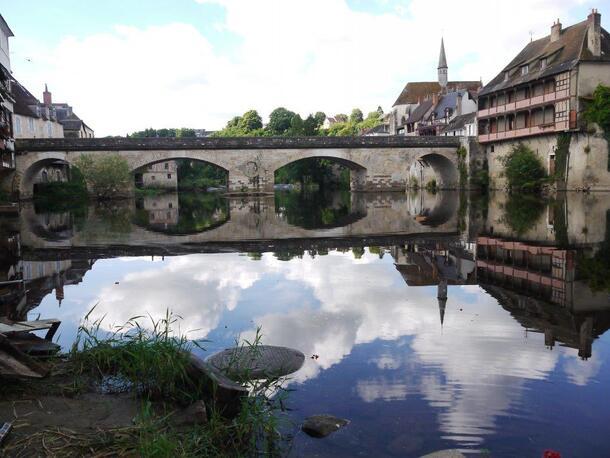 Le vieux pont d'Argenton