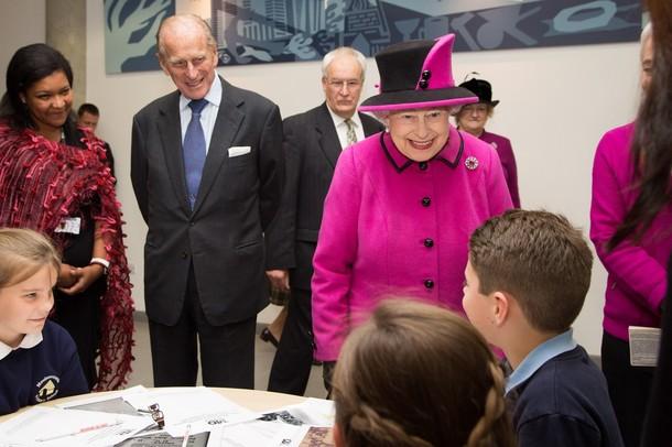 Elizabeth et Philip dans le Sussex