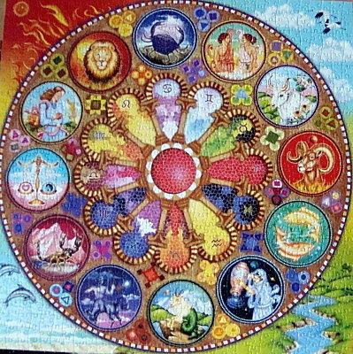 Puzzle zodiaque.