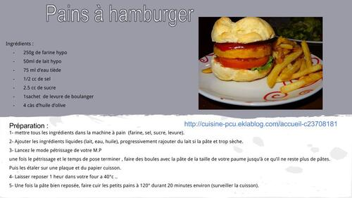 Pains à hamburger