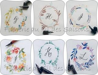 Abécédaire fleurs et caligraphie !