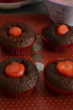 Cupcake Ultra Fraise { et une selection Fraise}