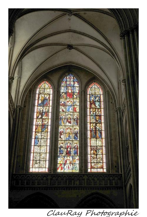 Coutances - La cathédrale - Manche - Normandie - 19/20 Juin 2015