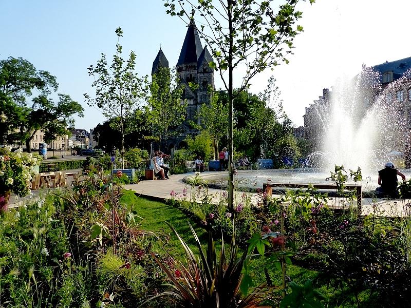 Metz / Le Lac aux Cygnes...