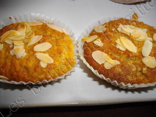 Muffins moelleux aux flocons d avoines et a la pomme